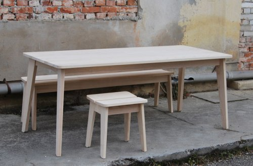 Welland-table_-bench-and-stool-by-Ineke-Hans-for-SCP