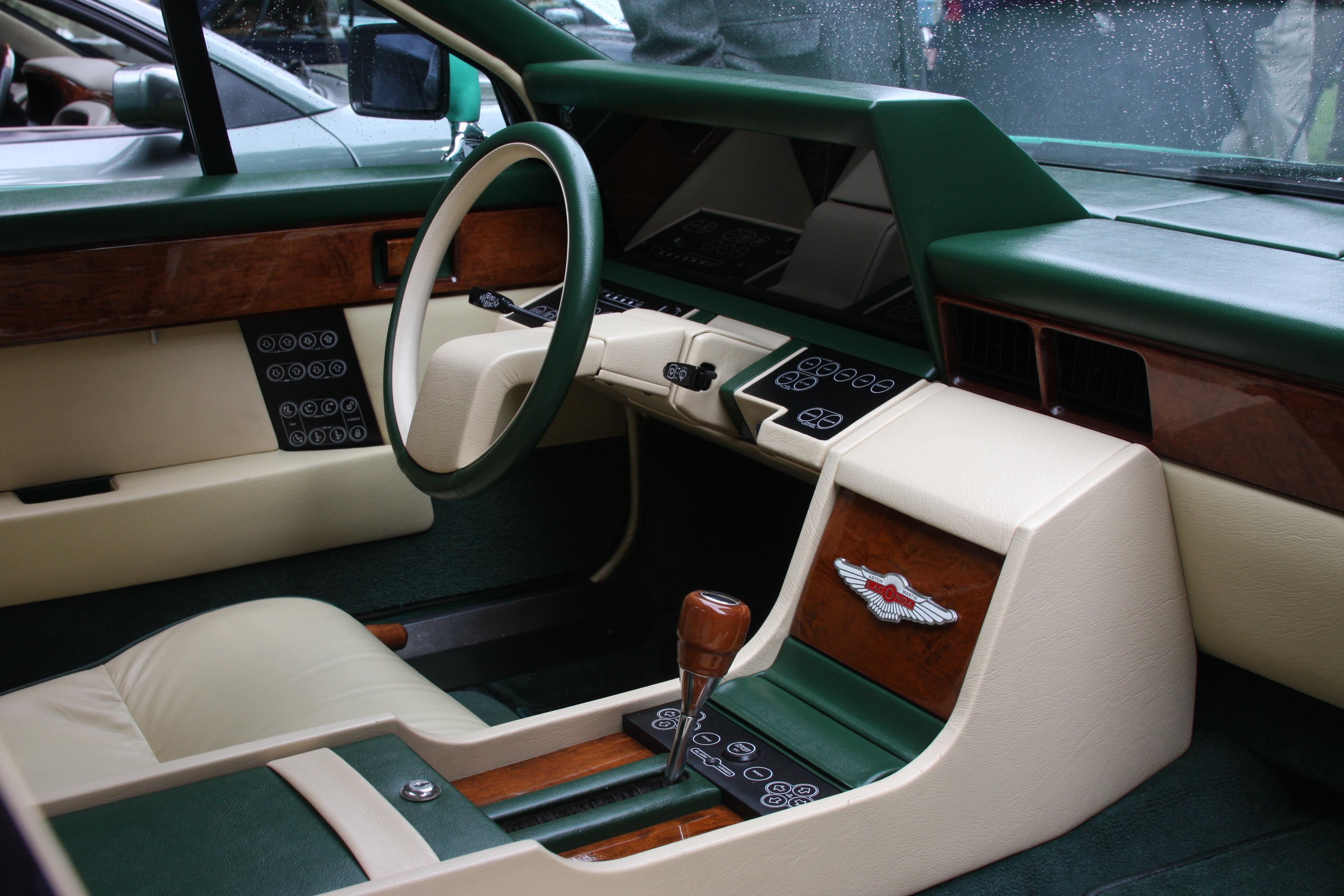The Aston Martin Lagonda Interior
